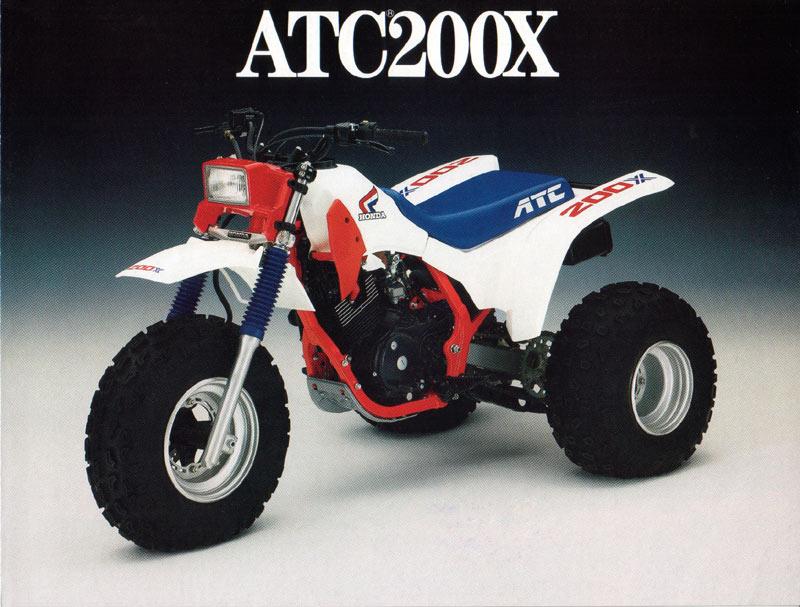 Honda Odyssey Fl350 1986 Honda ATC 200x My first brand new trike. My dad originally bought ...